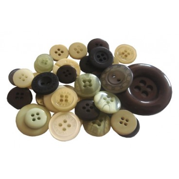 Mixed Buttons   Neutral