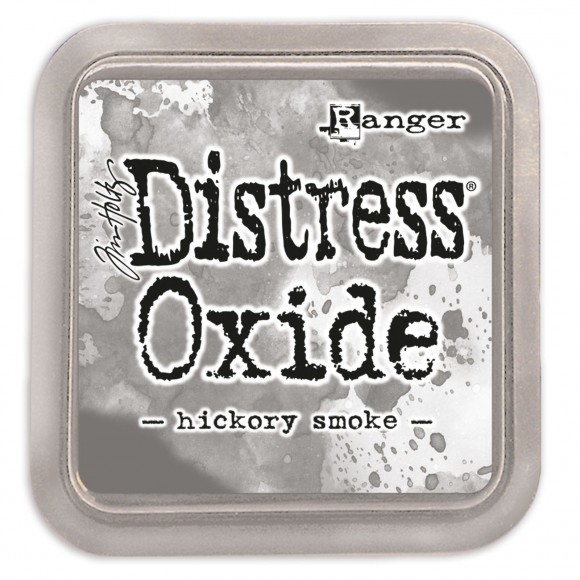 Tim Holtz distress oxide hickory smoke