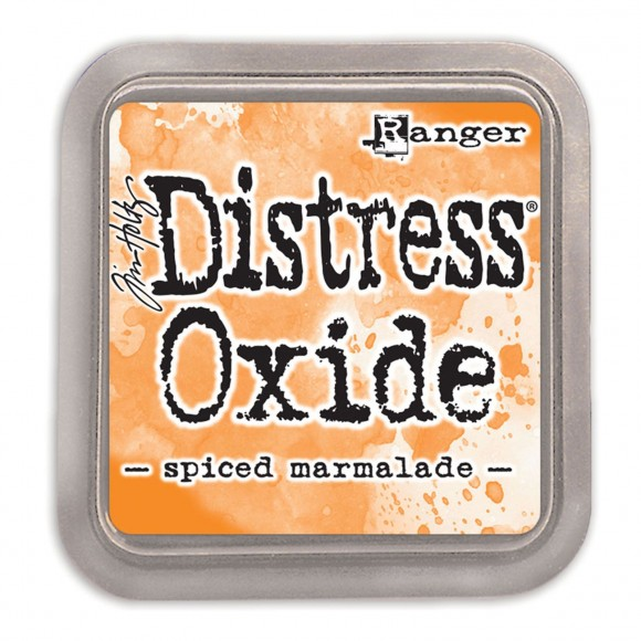 Tim Holtz distress oxide spiced marmalade