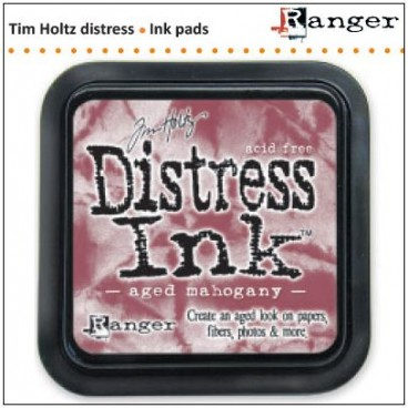 Aged Mahogany Distress Inkt  (Ranger) Mini