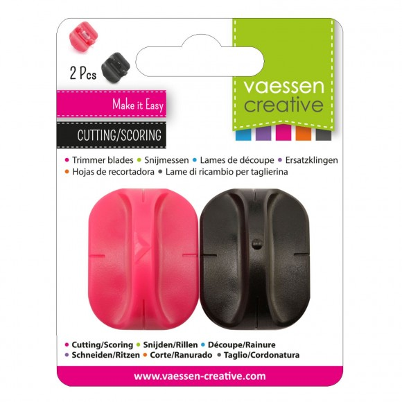 Vaessen Creative spare cutting blade + scoring blade for paper trimmers