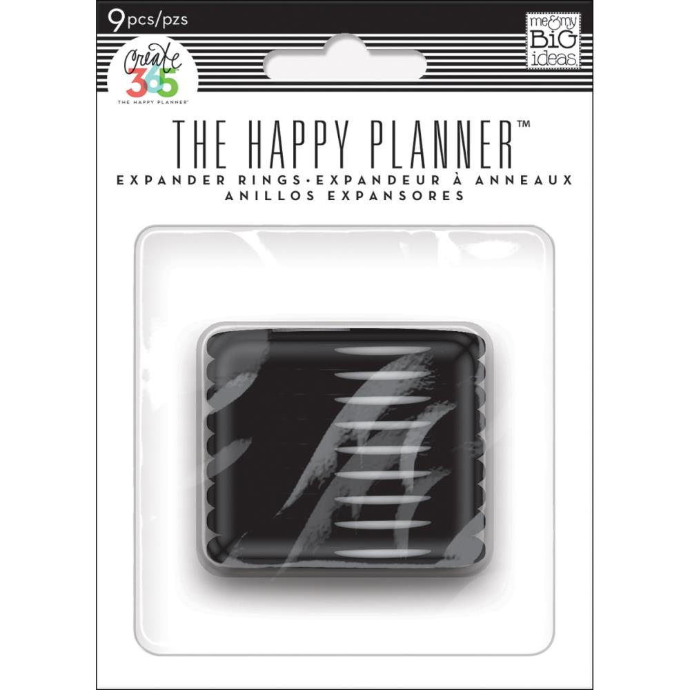 Happy Planner Discs Black 1.75
