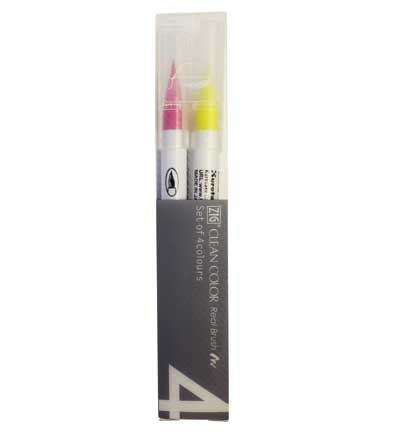 Set 4 Real brush / pure colours (Clean Colors)