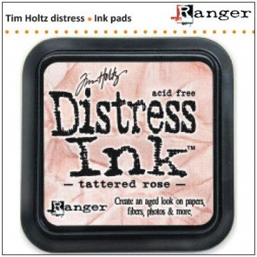 Distress  Inkt   Tattered Rose   (Ranger) Mini