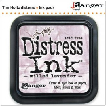Distress Inkt  Milled Lavender (Ranger) Mini