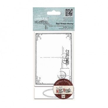 DoCrafts - Tall Urban Stamps - Postal Frame