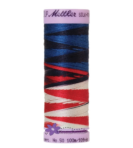 Kleurnr. 9823 Gemeleerd Silk Finish Multi