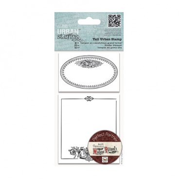 DoCrafts - Tall Urban Stamps - Oval Frame