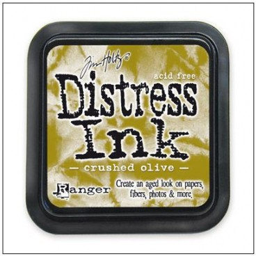 Crushed Olive  Distress Inkt  (Ranger) Mini