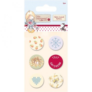 Tilly Daydream - Fabric Covered Buttons