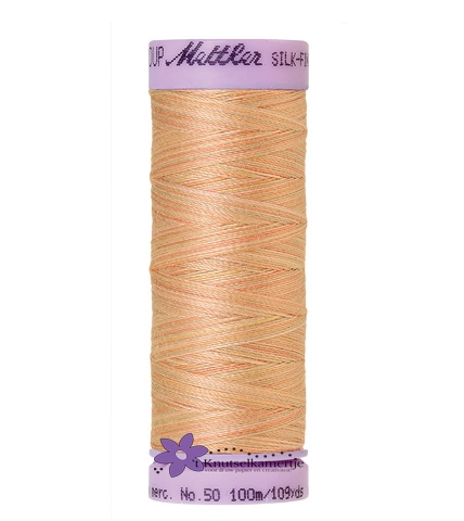 Kleurnr. 9857 Gemeleerd Silk Finish Multi