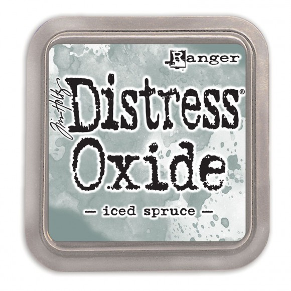 Tim Holtz distress oxide iced spruce