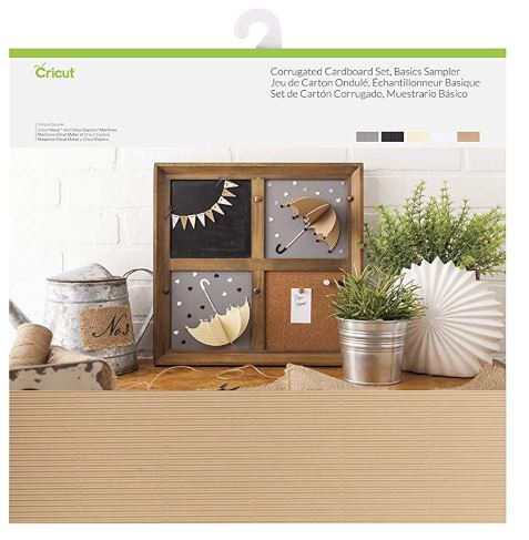 Cricut - Corrugated Cardboard Set - Basics Sampler