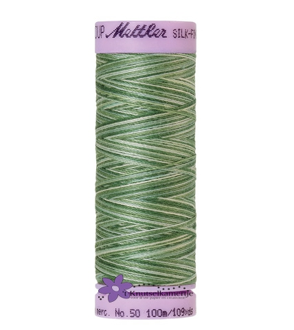 Kleurnr. 9819 Gemeleerd Silk Finish Multi