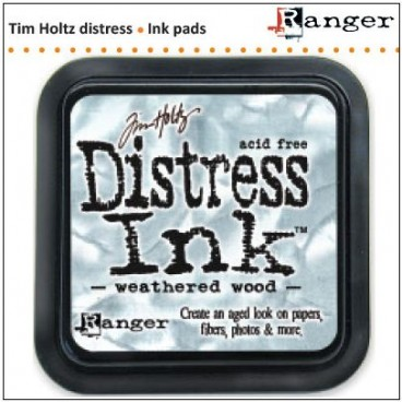 Weathered Wood  Distress Inkt  (Ranger) Mini