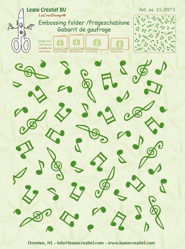 background Musical symbols