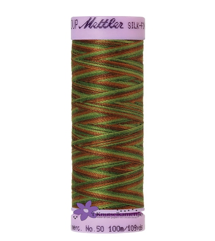 Kleurnr. 9822 Gemeleerd Silk Finish Multi