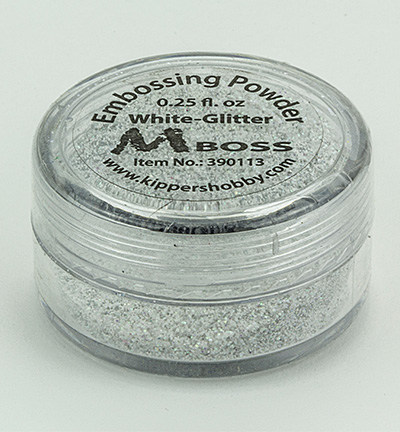 Embossing White-Glitter(Special Silver)