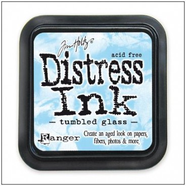 Tumbled Glass  Distress Inkt  (Ranger) Mini