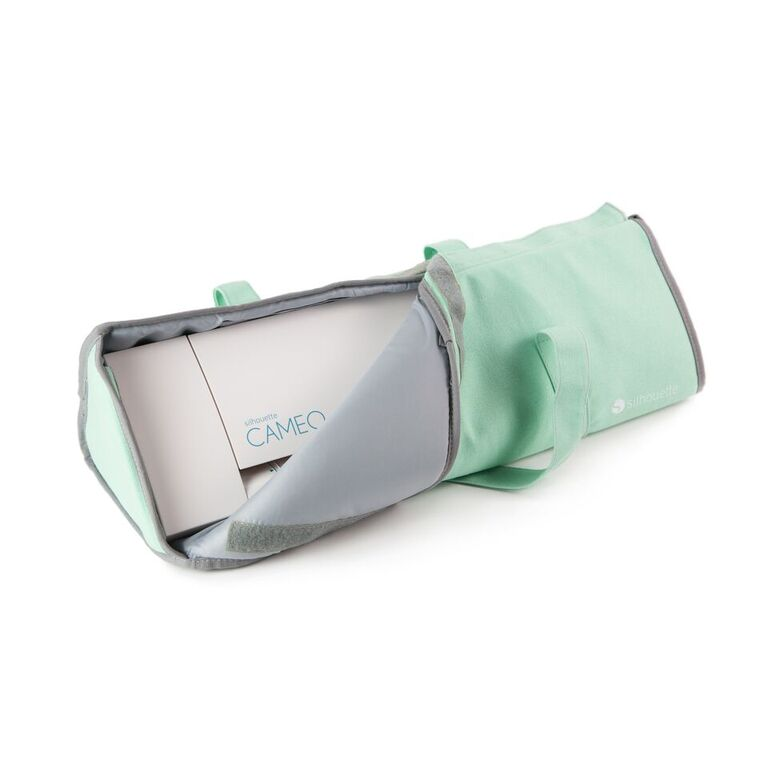 Silhouette CAMEO 1 + 2  Light Tote - Green (with padding)