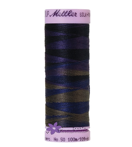 Kleurnr. 9813 Gemeleerd Silk Finish Multi