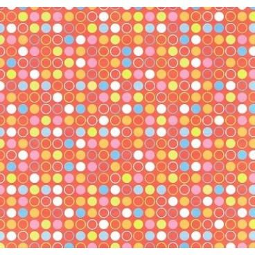 Provo Craft Red Party Dots