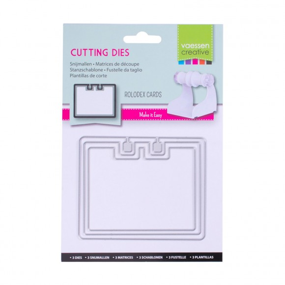 Vaessen Creative  cutting die Rolodex no.1 rounded rectangle
