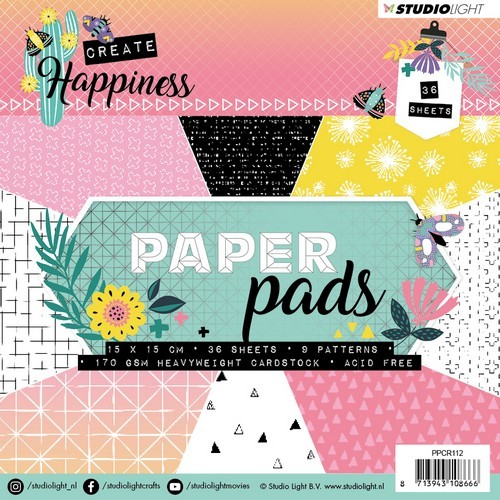 Studio Light - Create Happiness - Paper Pad