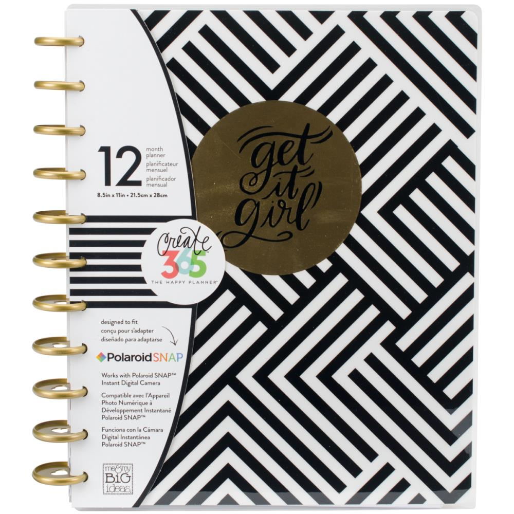 The Happy Planner - Big Planner - Get it Girl - 12 Month Undated Planner
