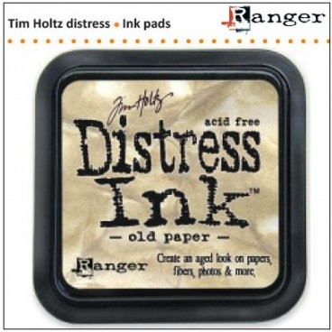 Old Paper  Distress Inkt  (Ranger) Mini