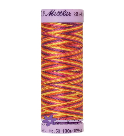 Kleurnr. 9841 Gemeleerd Silk Finish Multi