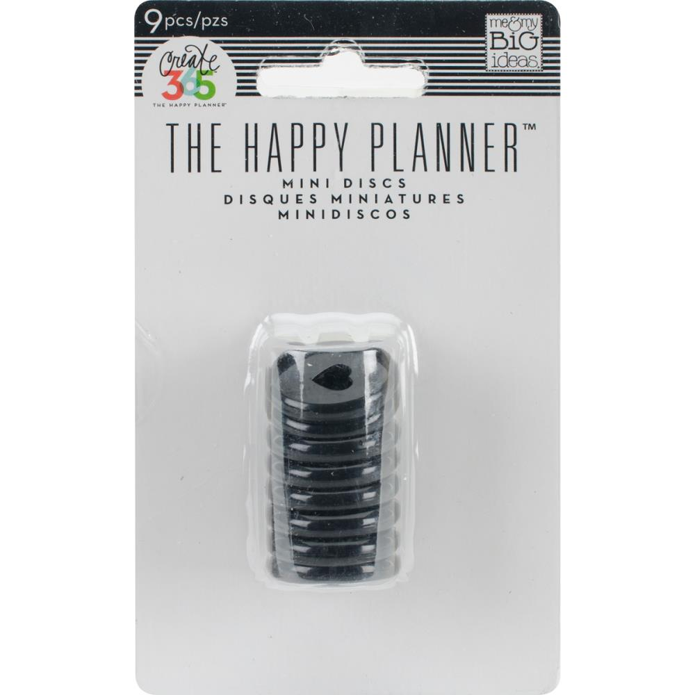 Happy Planner Discs Black 0.75