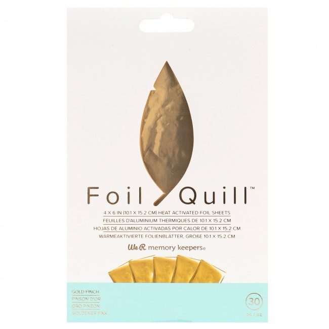 We R Memory Keepers Foil Quill foil gold finch