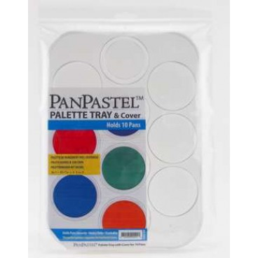 Tray Palette for 10 colors PanPastel