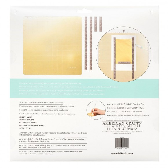 We R Memory Keepers  Magnetic mat