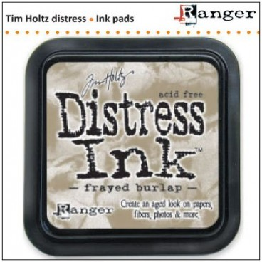 Frayed Burlap  Distress Inkt  (Ranger) Mini