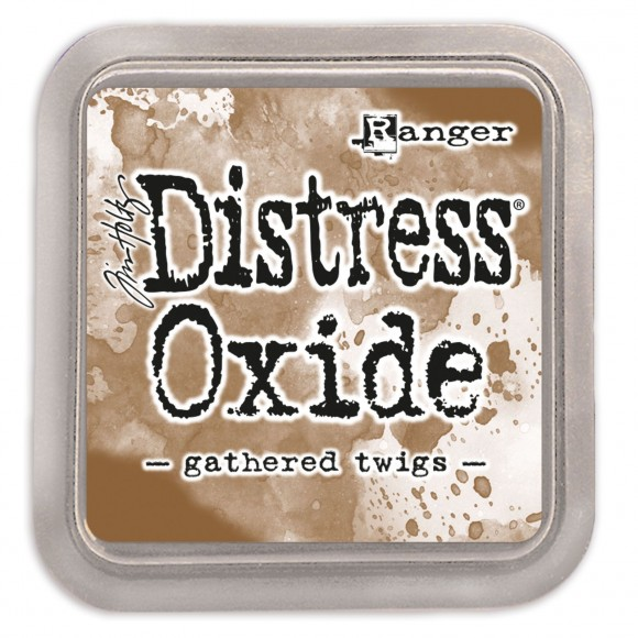 Tim Holtz distress oxide gathered twigs