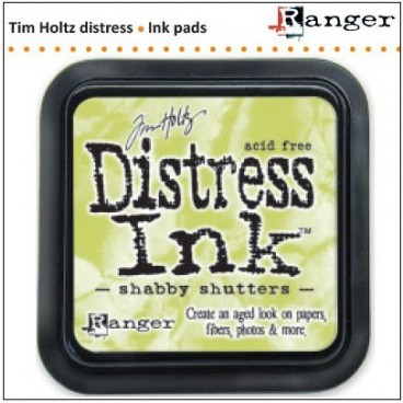 Distress Inkt   Shabby Shutters (Ranger) Mini