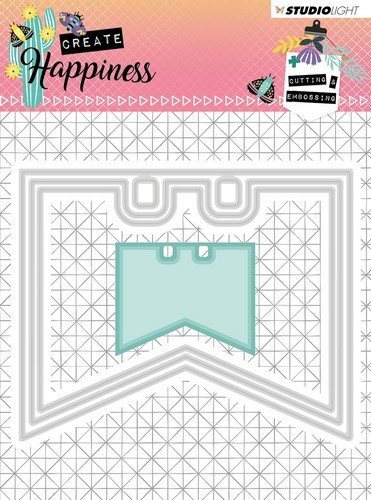 Studio Light - Create Happiness - Cutting and Embossing Die - nr.154