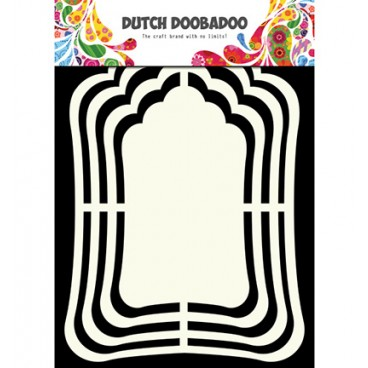 Shape Art Label Mirror