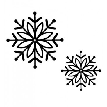Stamps Bold Snowflake