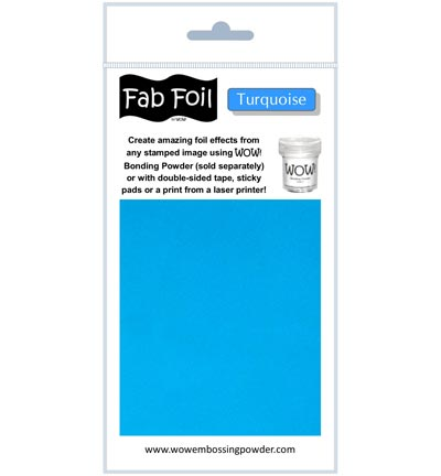 Fab Foil Turquoise