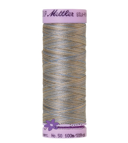 Kleurnr. 9843 Gemeleerd Silk Finish Multi