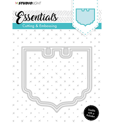 Essentials Embossing Die Cut Stencil Nr119