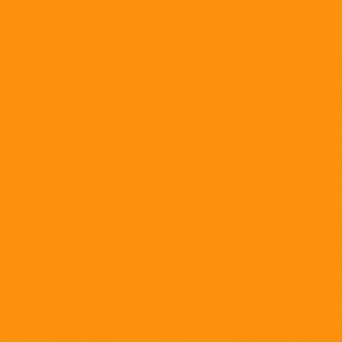 Flockfolie Yellow Orange