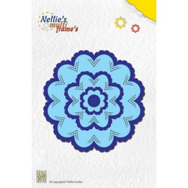 Incire flower-2 Multi Frame Die