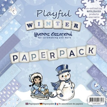 Yvonne Creations - Playful Winter