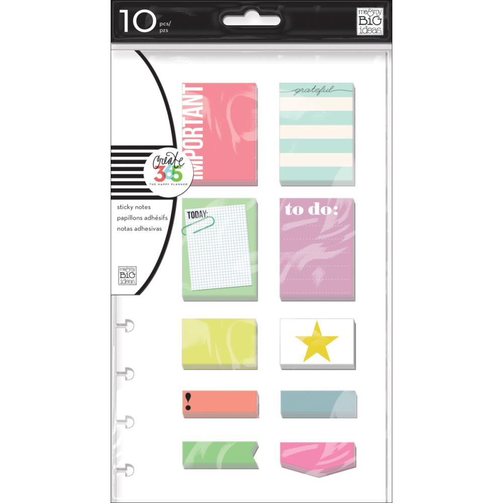 The Happy Planner - Sticky Notes - Important - (10 notepads)