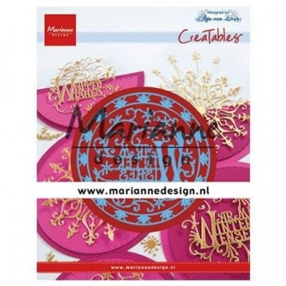 Marianne Design  Creatables Anja's warm winter wishes