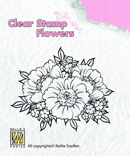 Flowers Anemones Clearstamps